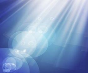Light Rays Effect set vector