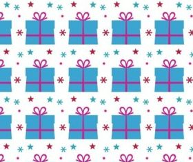 Birthday Present Pattern vector