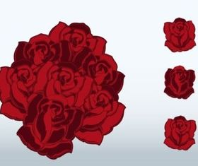Romantic Roses vectors