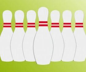 Seven Pins vector graphic