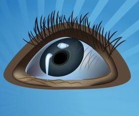 Staring Eye vectors