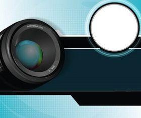 CamerLens Backgrounds art vector
