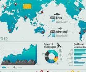 Infographics Elements 19 vector