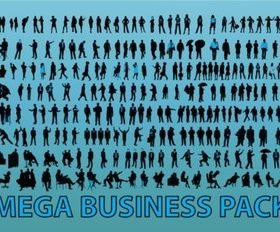 Business People Graphics vector