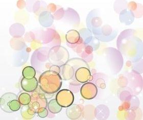 Retro Bubble Background vector