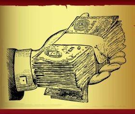 Money Handout vector