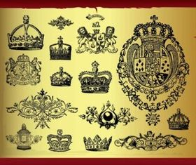 Royal Designs vectors