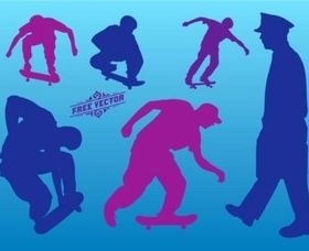 Skateboard Graphics vector