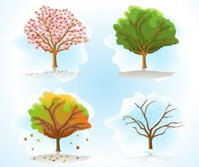 Vector Trees Pack set