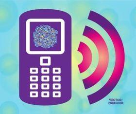 Free Smart Phone Icon vector