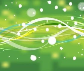 Green Sparkles background shiny vector