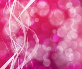 Pink Bubble Background vector