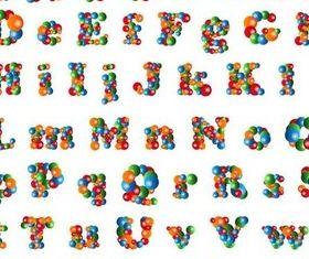 Creative Alphabet free vector
