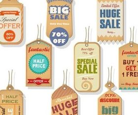 Wooden Stickers graphic vectors graphic