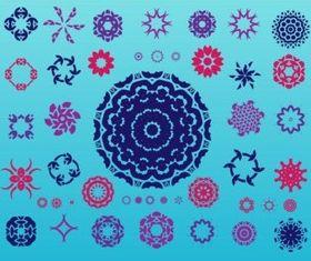 Geometric Design Elements vector graphics