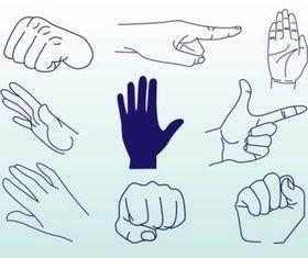 Hands Vectors