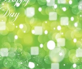 Green Celebration background vector