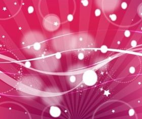 Red Space Background vector