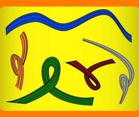 Swirls Doodles vectors