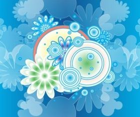 Blossom Decoration set vector