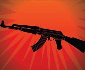 AK 47 vector set