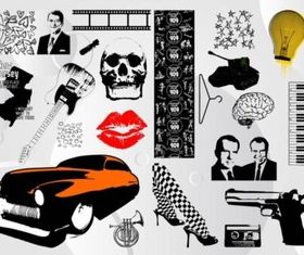 Cool Images Pack vector