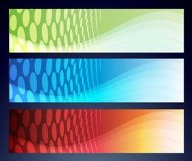 Banner Background Images set vector