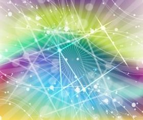 Psychedelic Space set vector