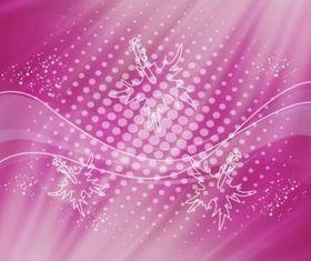 Burgundy Lights Background vector