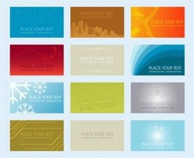 Business Cards Illustration vector