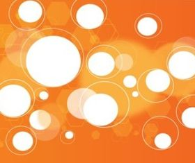 Digital Orange Background vectors graphics