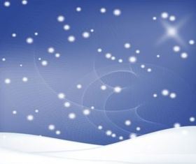 Winter Snow background vector design