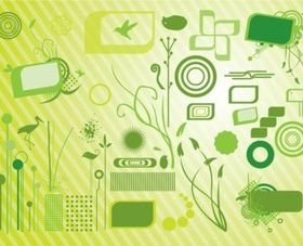 Green Graphics vectors graphics
