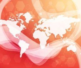 Tech World Backdrop vector graphics