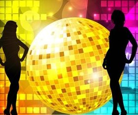 Party Backgrounds Set 9 vectors