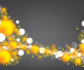 Golden Spheres Backdrop vector graphics