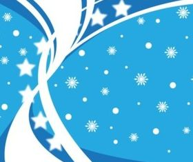 Winter Blue Background vectors