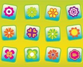 Free Flowers vector design