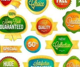 Sale Color Badge vectors graphic