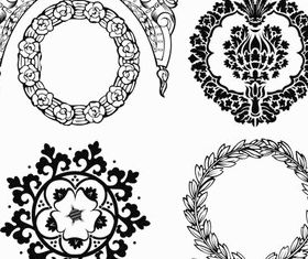 Ornate Decorative Elements 3 vector
