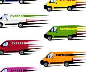 Delivery Service free set vector