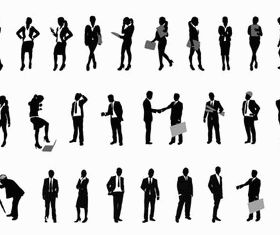 Business People Set 3 creative vector