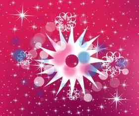 Spinning Star Background vector