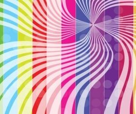 Rainbow Stripes Background vectors graphic