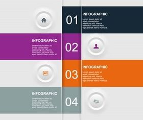 Infographic Backgrounds 29 vector