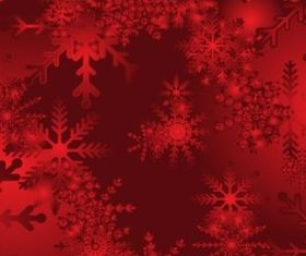 Red Snow Background vector