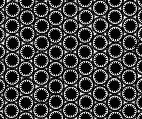 Dark Gear Pattern background vector
