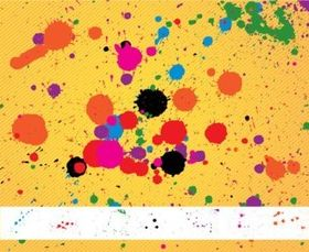 Paint Splatters Pack vector