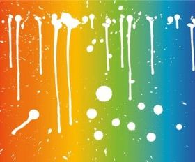 Rainbow Freedom vector
