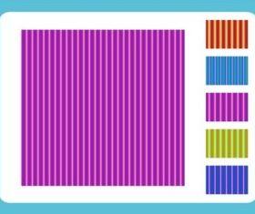 Vertical Stripe Patterns background vector design